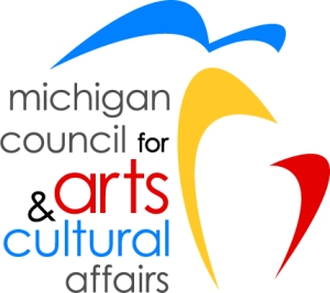 Our thanks goes to the Michigan Council for their support of the visual arts, and through WCAMI to individual women artists in Michigan.