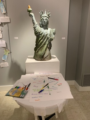 Lady Liberty Welcomes All, by Marcia Polenberg